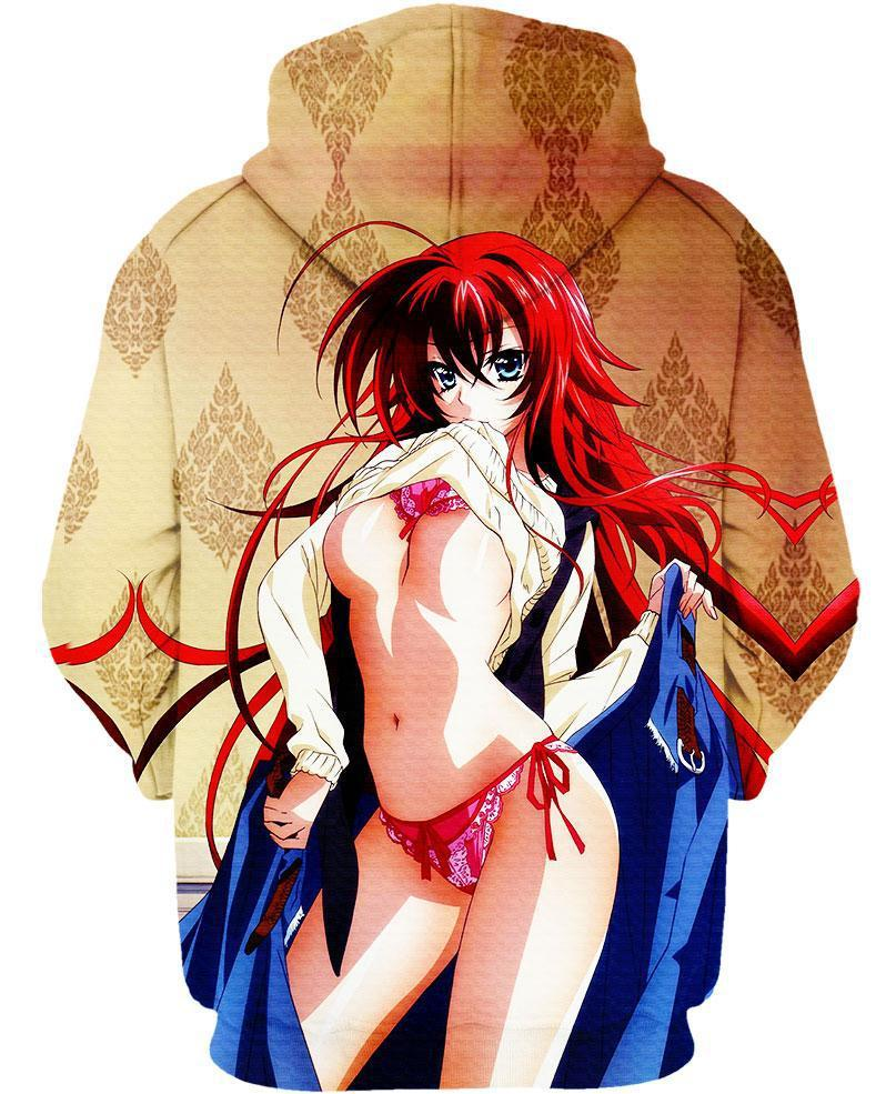 Avatar The Last Airbender Naked highschool dxd hoodie shirt girls naked clothing jacket zip