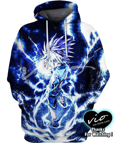 Hunter x Hunter-Hoodie-Shirt-Clothing-Jacket-Zip-Up-KILLUA-VIO STORE