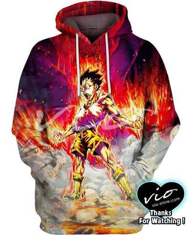 Hunter x Hunter-Hoodie-Shirt-Clothing-Jacket-Zip-Up-Rookie Hunter-VIO STORE