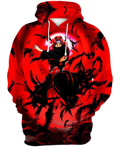 Naruto-Hoodie-Shirt-Clothing-Jacket-Zip-Up-Flock of Crows-VIO STORE