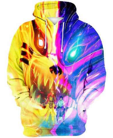 Naruto-Hoodie-Shirt-Clothing-Jacket-Zip-Up-Kurama and Susanoo-VIO STORE