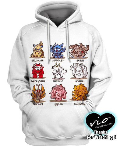 Naruto-Hoodie-Shirt-Clothing-Jacket-Zip-Up-Legendary Tailed Beasts-VIO STORE