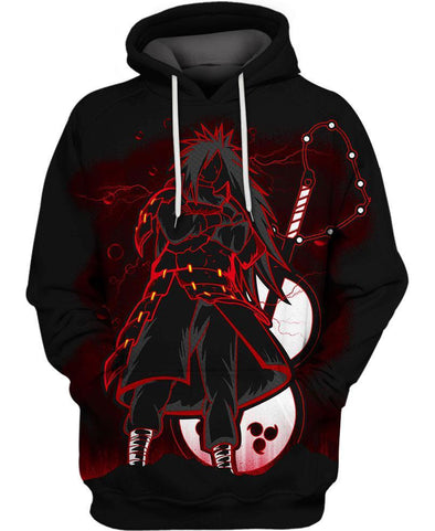 Naruto-Hoodie-Shirt-Clothing-Jacket-Zip-Up-Red Shinobi Madara-VIO STORE