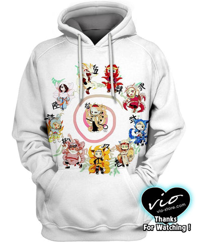 Naruto-Hoodie-Shirt-Clothing-Jacket-Zip-Up-The Adorable Ninjas-VIO STORE