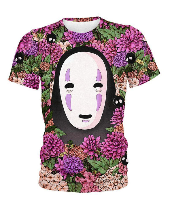 Studio Ghibli-Kid Tee-Shirt-Clothing-Jacket-Zip-Up-Lost In Flower Garden-VIO STORE