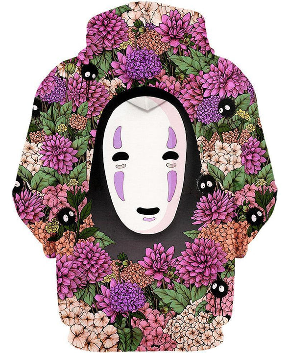 Studio Ghibli-Shirt-Clothing-Jacket-Zip-Up-Lost In Flower Garden-VIO STORE