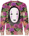 Studio Ghibli-Sweatshirt-Shirt-Clothing-Jacket-Zip-Up-Lost In Flower Garden-VIO STORE