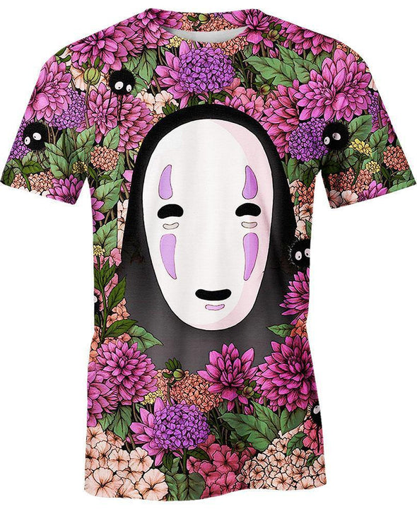 Studio Ghibli-T-Shirt-Shirt-Clothing-Jacket-Zip-Up-Lost In Flower Garden-VIO STORE