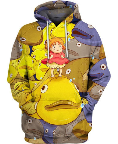 Studio Ghibli-Hoodie-Shirt-Clothing-Jacket-Zip-Up-Ponyo-VIO STORE