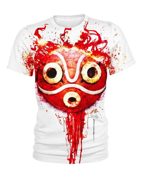 Studio Ghibli-Kid Tee-Shirt-Clothing-Jacket-Zip-Up-Forest Princess Mask-VIO STORE