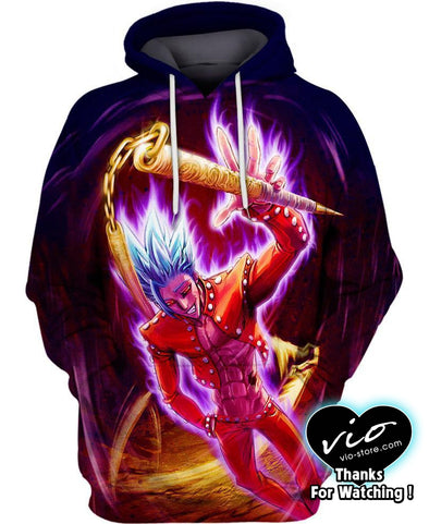 The Seven Deadly Sins-Hoodie-Shirt-Clothing-Jacket-Zip-Up-Undead Ban-VIO STORE