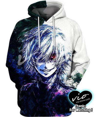 Tokyo Ghoul-Hoodie-Shirt-Clothing-Jacket-Zip-Up-A One-eyed Ghoul-VIO STORE