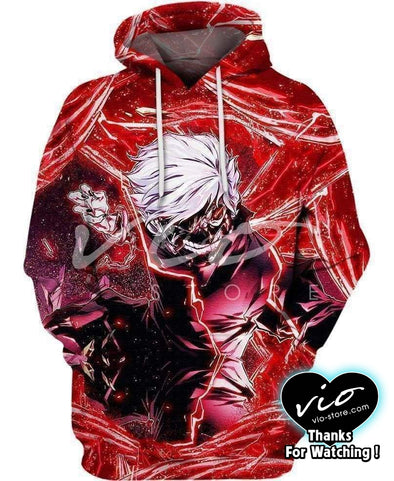 Tokyo Ghoul-Hoodie-Shirt-Clothing-Jacket-Zip-Up-A Uncontrollable Kagune-VIO STORE