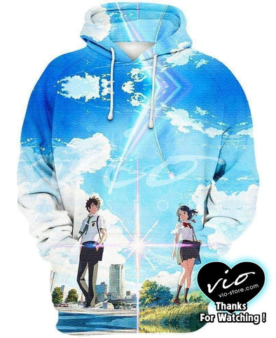 Your Name-Hoodie-Shirt-Clothing-Jacket-Zip-Up-Comet Dream-VIO STORE