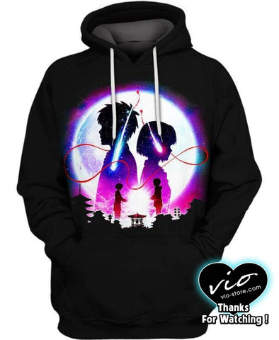 Your Name-Hoodie-Shirt-Clothing-Jacket-Zip-Up-I Am You-VIO STORE