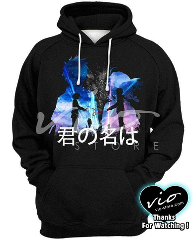 Your Name-Hoodie-Shirt-Clothing-Jacket-Zip-Up-Love Bond-VIO STORE