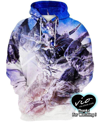 Yu-Gi-Oh-Hoodie-Shirt-Clothing-Jacket-Zip-Up-Divine-Beast-VIO STORE