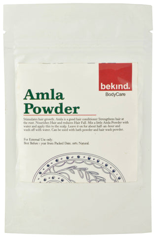 Bekind Amla Powder - 60 g X 4 Packs
