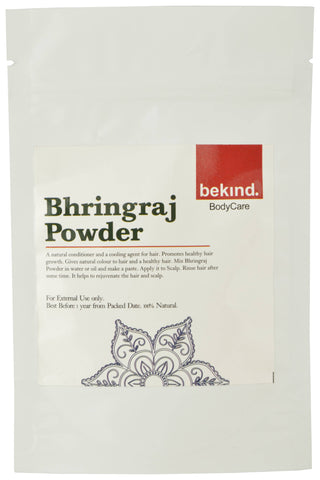Bekind Bhringraj Powder - 60 g X 4 Packs