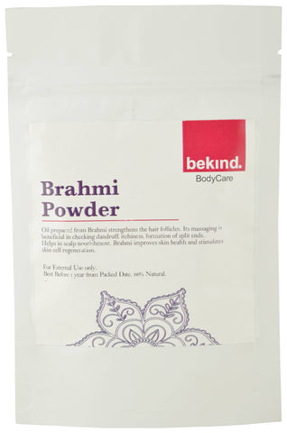 Bekind Brahmi Powder - 60 g X 4 Packs