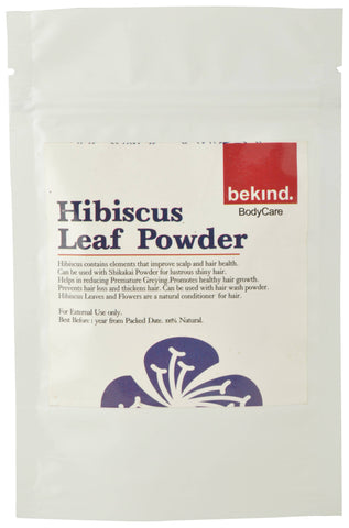 Bekind Hibiscus Leaf Powder - 60 g X 4 Packs