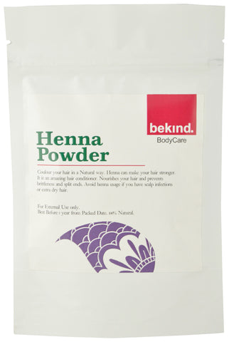 Bekind Henna Powder - 60 g X 4 Packs