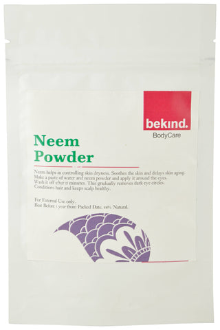 Bekind Neem Powder - 60 g X 4 Packs