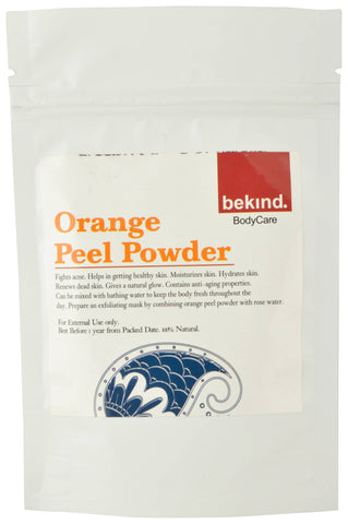 Bekind Orange Peel Powder - 60 g X 4 Packs