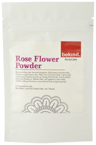 Bekind Rose Flower Powder - 40 g X 4 Packs