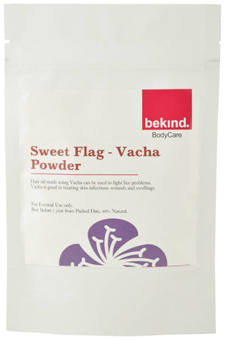 Bekind Sweet Flag (Vacha) Powder - 40 g X 4 Packs