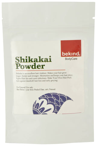 Bekind Shikakai Powder - 120 g X 4 Packs