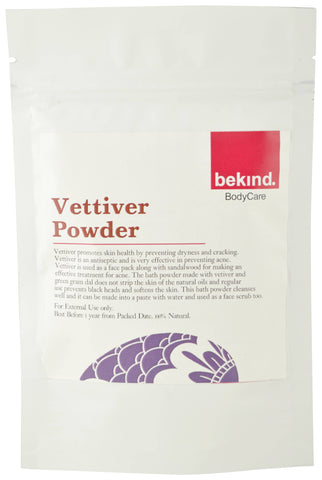 Bekind Vettiver Powder - 60 g X 4 Packs