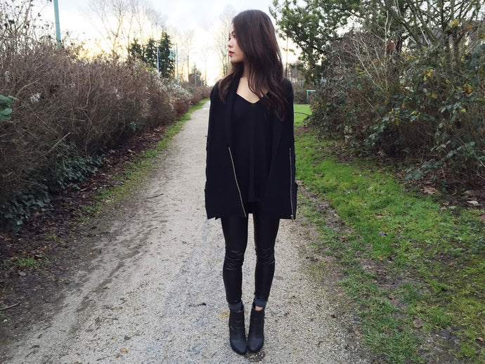 When in doubt, wear black