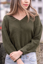 Marigold V-Neck Sweater
