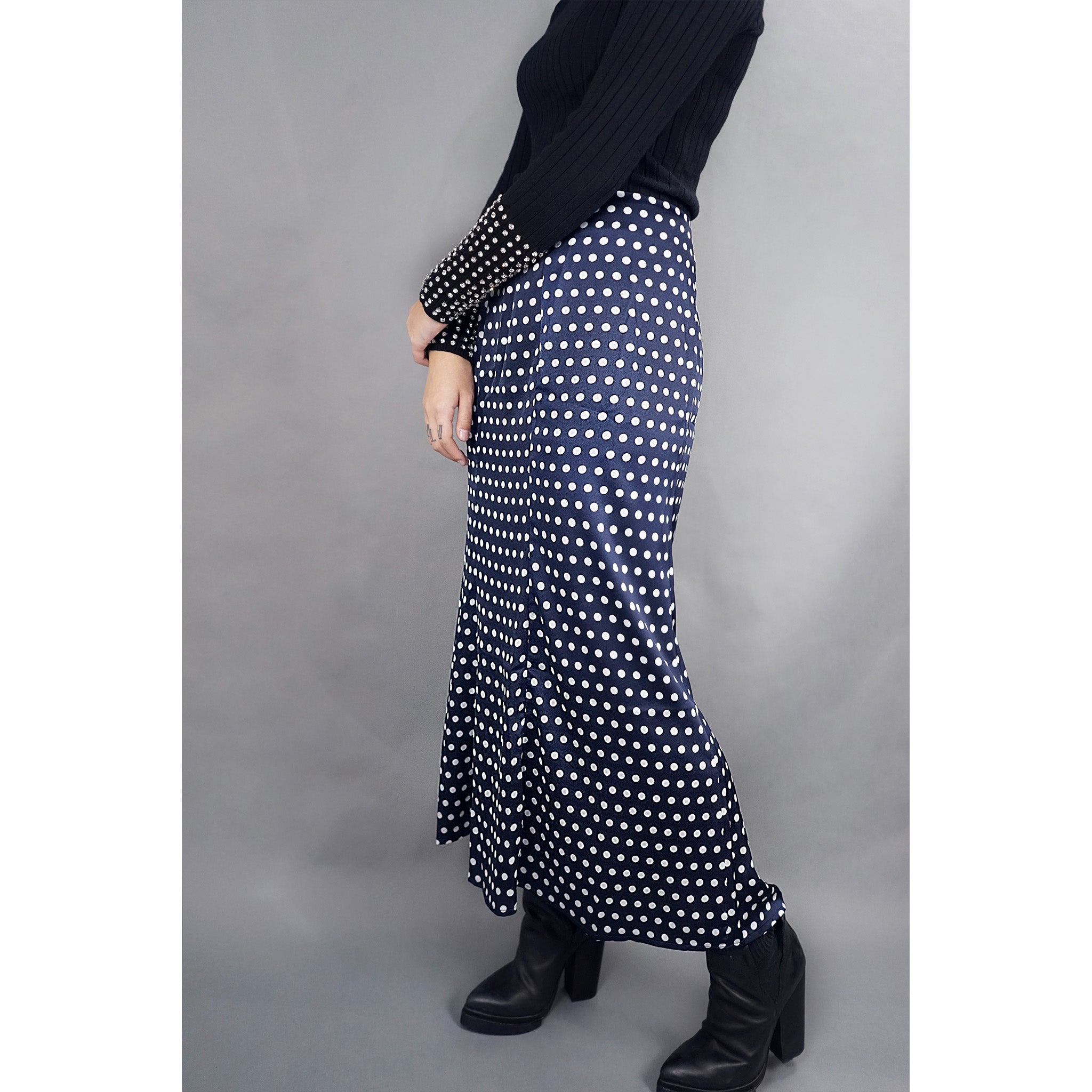Dots of Luck Polka Dot Skirt
