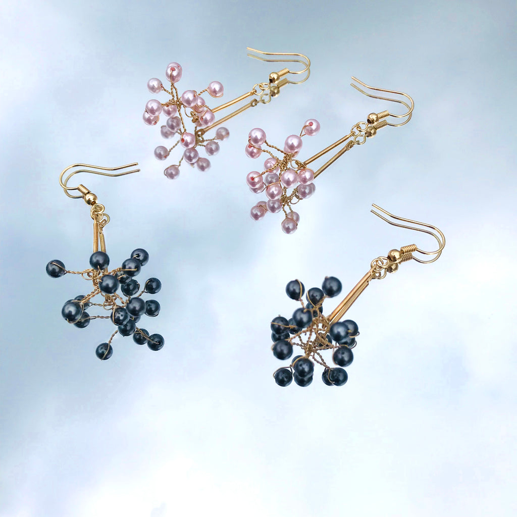 Firework Pearl Earrings