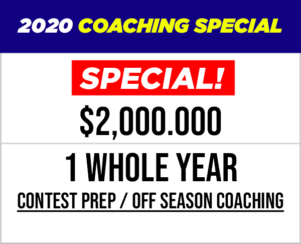 1 Year Coaching Special