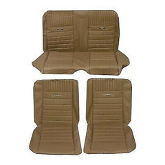 1965 - 1966 mustang coupe palamino pony upholstery