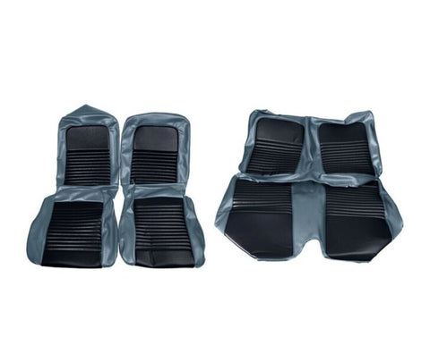 1967 ford mustang convertible blue standard upholstery kit