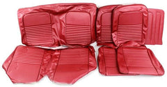 1967 mustang convertible red standard upholstery kit