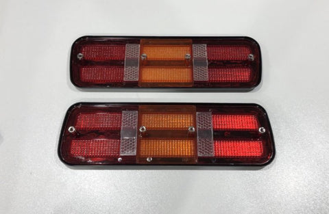 falcon xc coupe tail light lenses pair