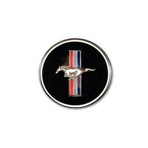 1964 - 1973 ford mustang Horn Button and Dash Panel Emblem with Tri-Bar Log