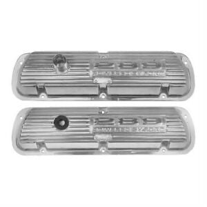 1964 1965 1966 1967 Mustang 289 polished alluminium valve covers
