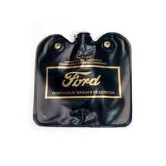 1966 1967 ford mustang washer bag assembly (Gold Ford logo, flip cap)