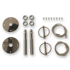 1964 1965 1966 1967 - 1973 ford mustang deluxe racing hood pin kit