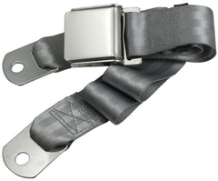 1964-1973 ford mustang grey seat belt