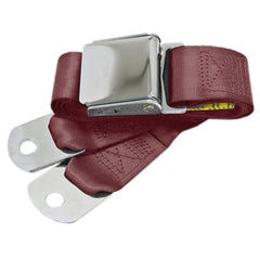 1964-1973 ford mustang maroon seat belts