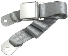 1964-1973 ford mustang silver seat belt