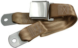 1964-1973 ford mustang tan seat belt