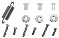 1967 1968 ford mustang headlight screws spring clip nuts
